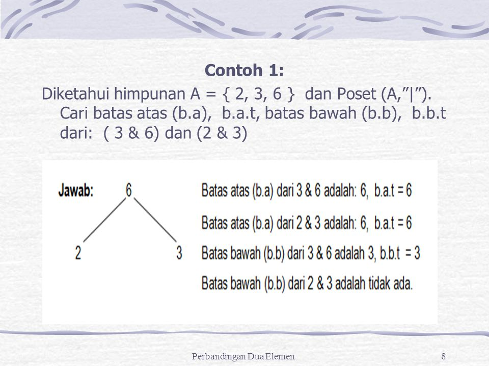 Perbandingan Dua Elemen Ppt Download