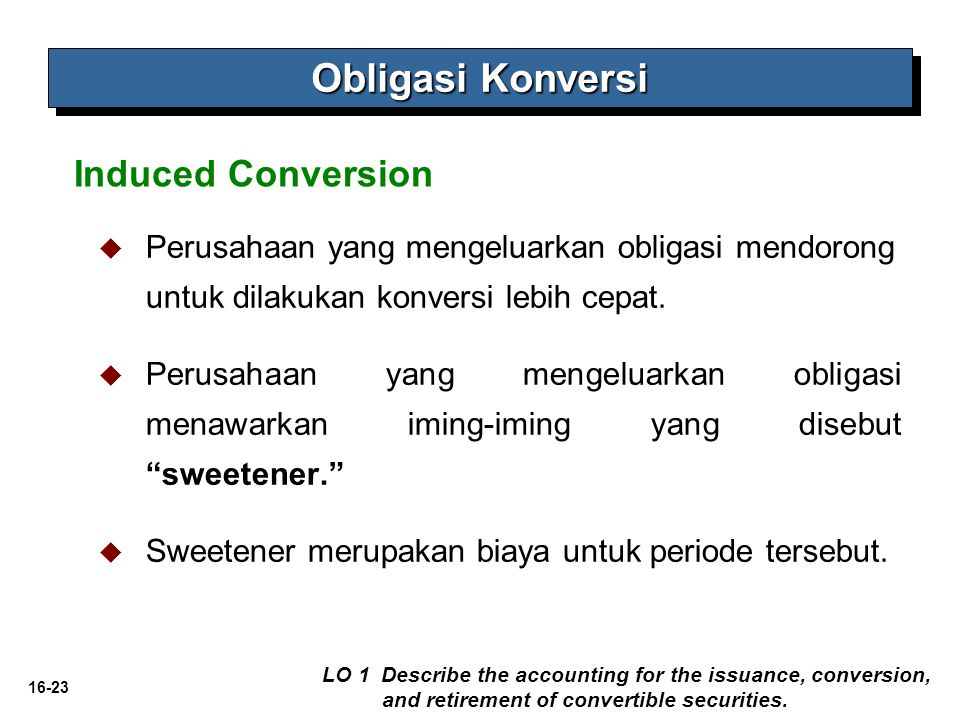 Obligasi Konversi Induced Conversion