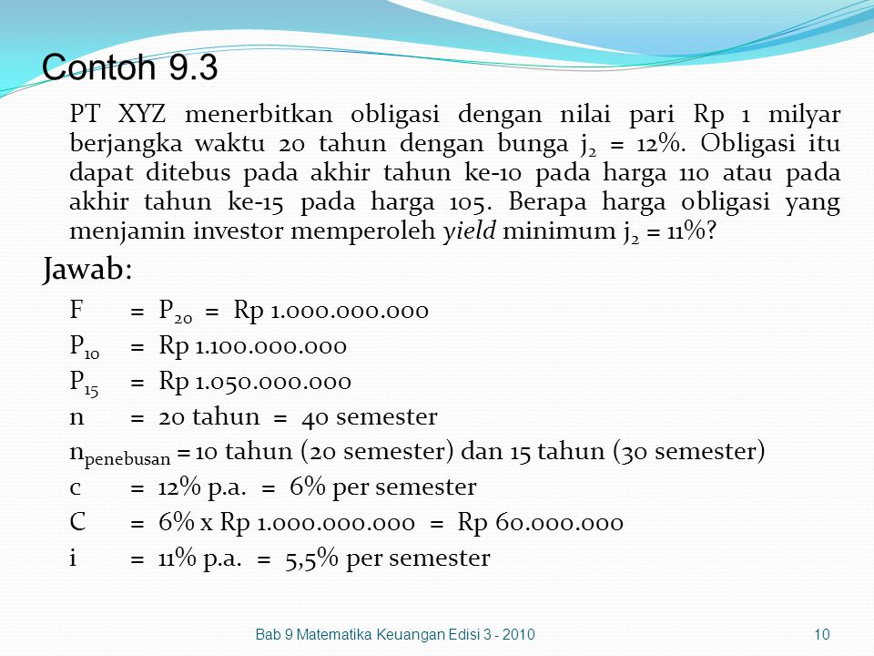 Bab 9 Obligasi Ppt Download