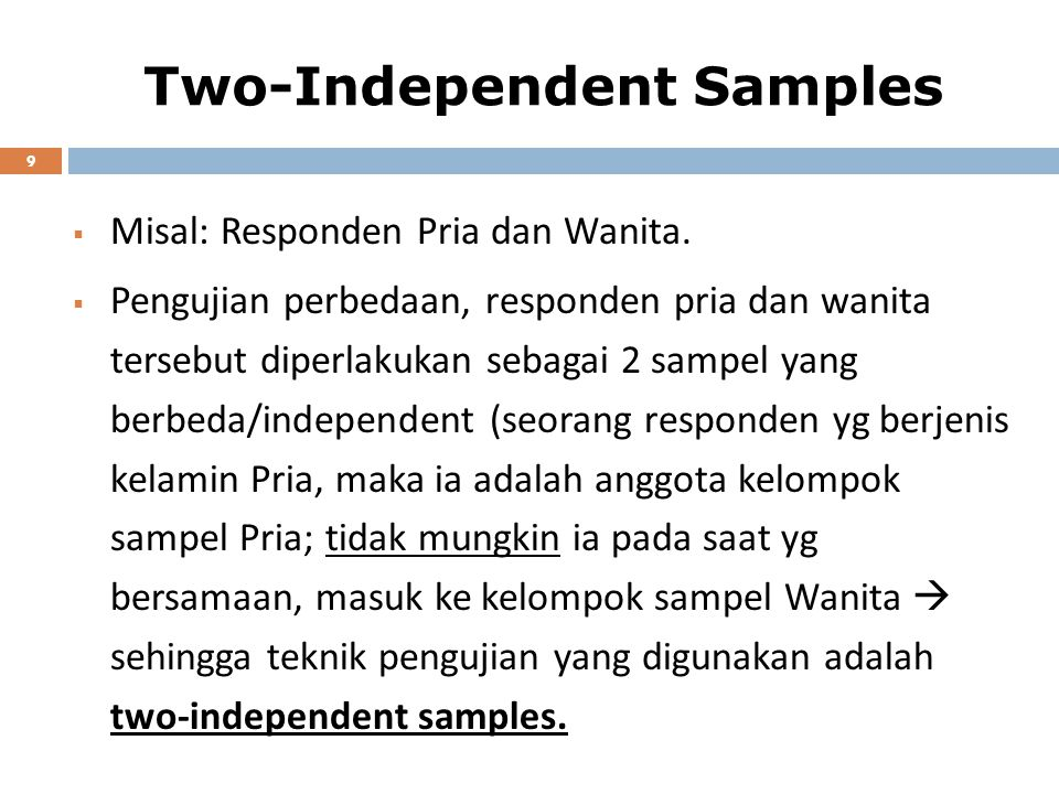 Two-Independent Samples