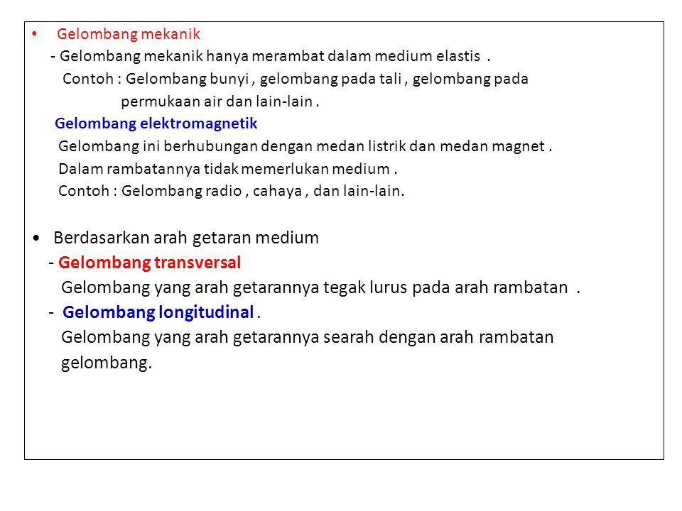 Kuliah Gelombang Pertemuan Ppt Download
