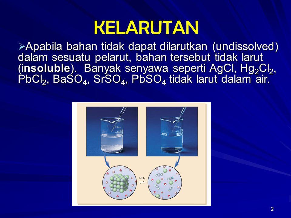 Kelarutan Gula Larut Dalam Air Ini Berarti Bahwa Kita Boleh Melarutkan Gula Dalam Jumlah Yang Banyak Dalam Air Berapa Banyak Kuanti Yang Banyak Ppt Download