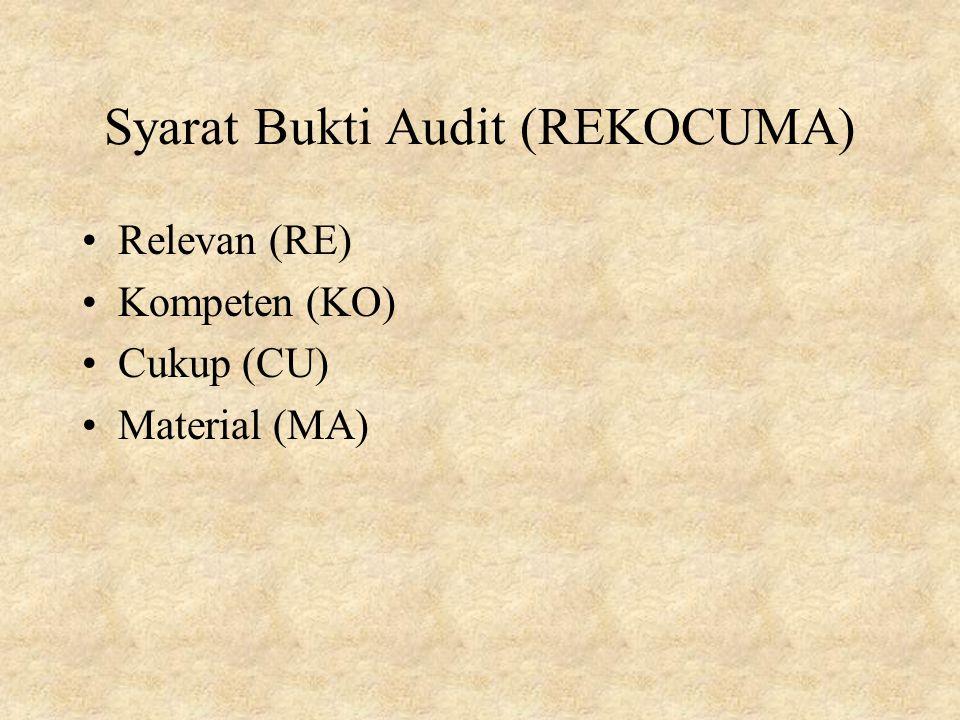 Bukti Audit Ppt Download