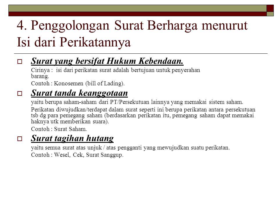 Surat Berharga Nurul Fibrianti Ppt Download