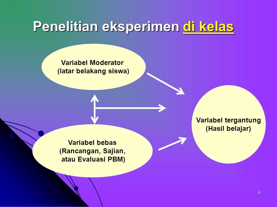 Penelitian Eksperimen Ppt Download