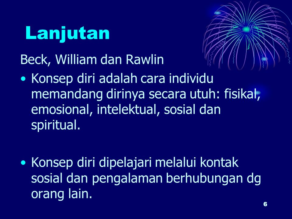 Lanjutan Beck, William dan Rawlin
