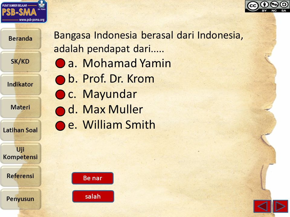 Mohamad Yamin Prof. Dr. Krom Mayundar Max Muller William Smith