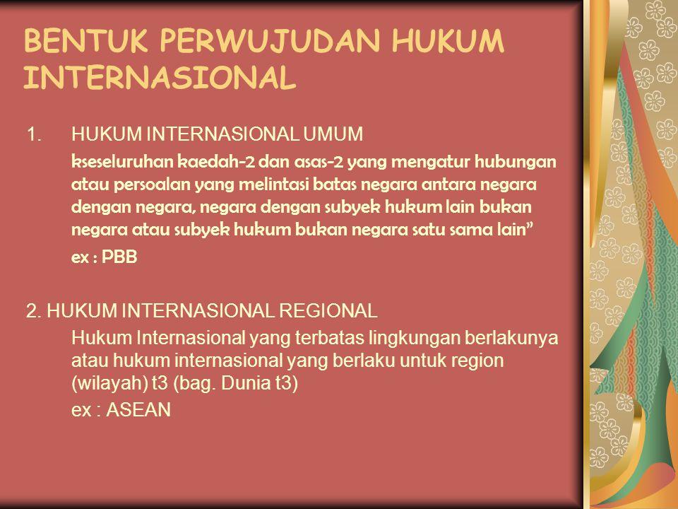 Hukum Internasional Pengertian Hukum Internasional Ppt Download