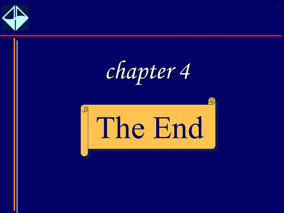 chapter 4 The End