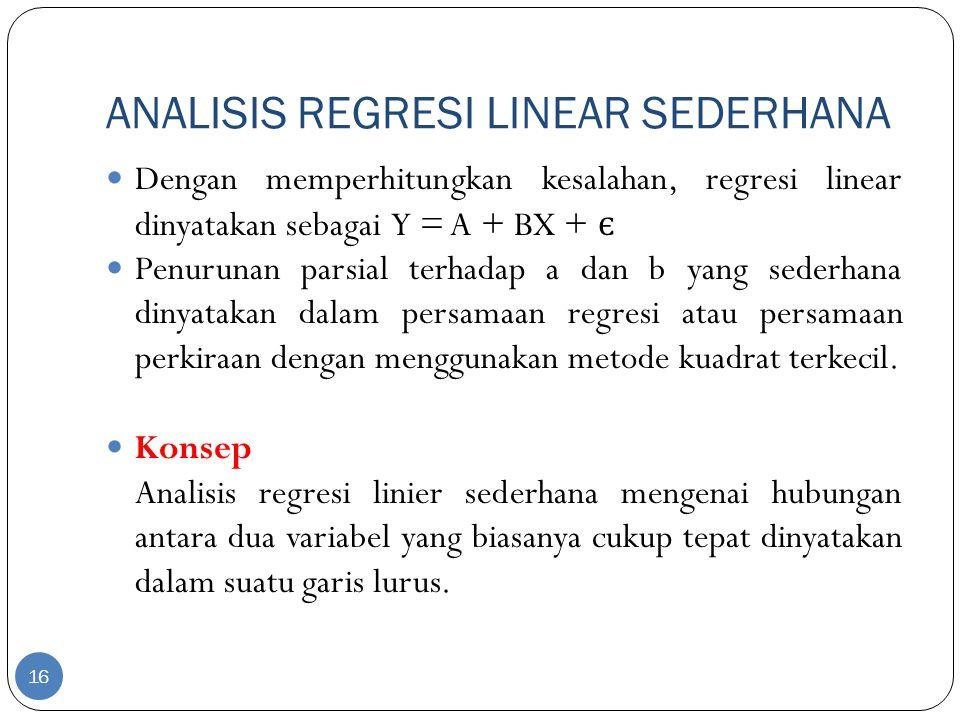Bab Vii Analisis Korelasi Dan Regresi Linier Sederhana Ppt Download