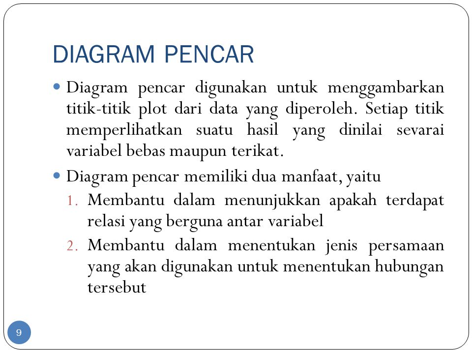 Bab vii analisis korelasi dan regresi linier sederhana ppt download 9 diagram pencar ccuart Gallery