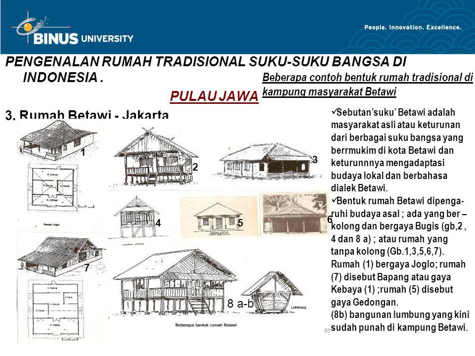 Matakuliah R0772 Arsitektur Tradisional Ppt Download