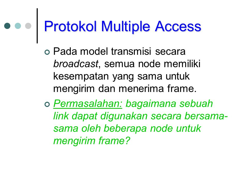 Protokol Multiple Access