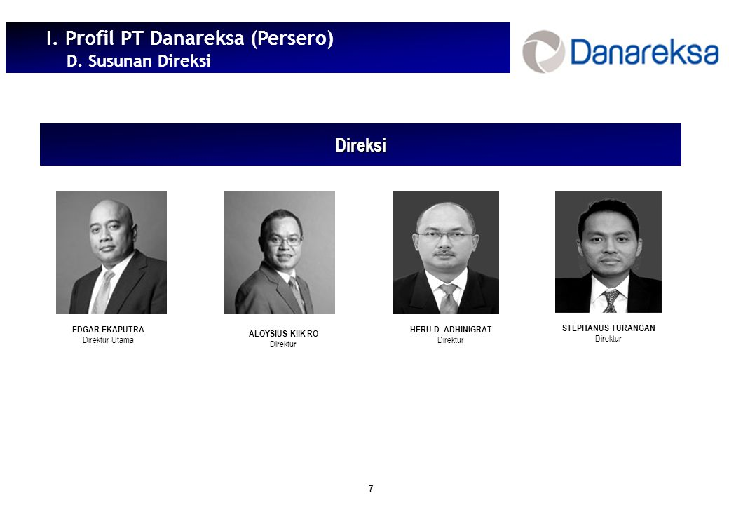 Pemaparan Pelaksanaan Internal Audit Pt Danareksa Persero Ppt Download