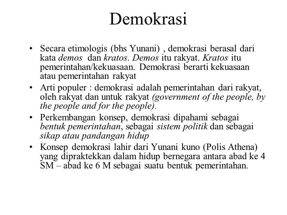 Bab 5 Demokrasi Apa Itu Demokrasi Dan Demokratisasi Ppt Download