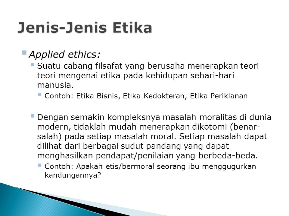 Mata Kuliah Etika Periklanan Ppt Download