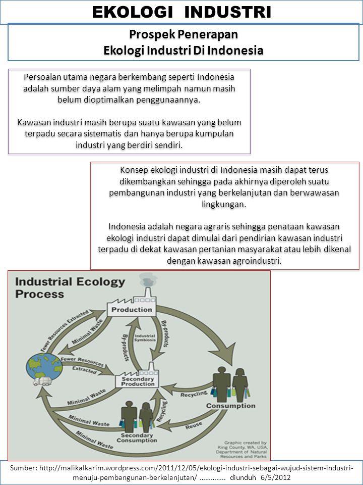 Kajian lingkungan dan pembangunan ppt download 24 ekologi industri di indonesia ccuart Choice Image