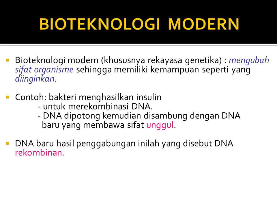 Bioteknologi Ppt Download