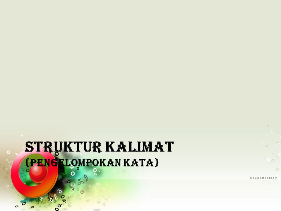 Sintaksis Dewi Puspitasari Ppt Download