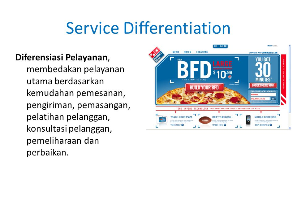 Service Differentiation