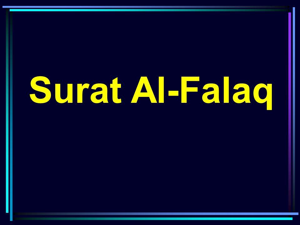 Surat Al Falaq Ppt Download