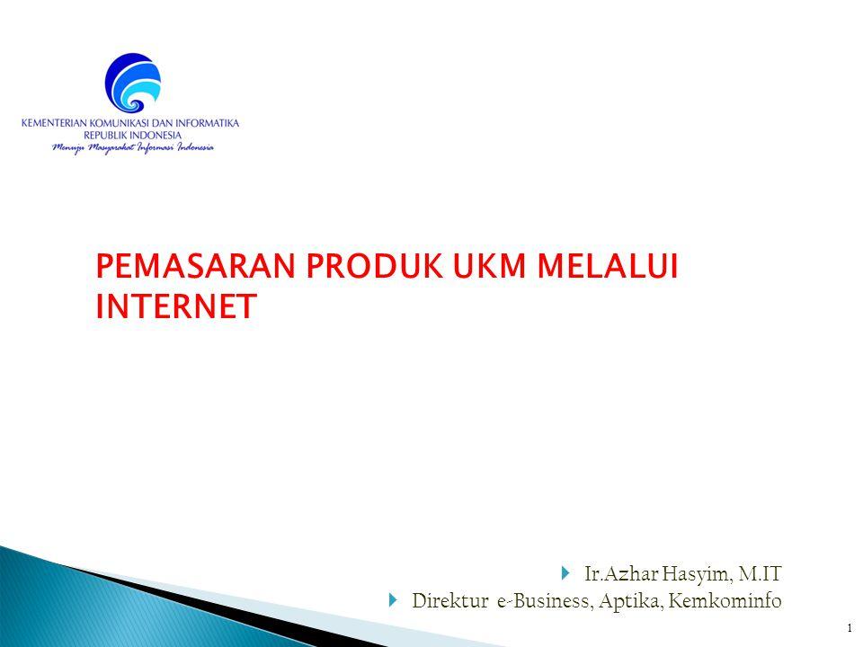 Pemasaran Produk Ukm Melalui Internet Ppt Download