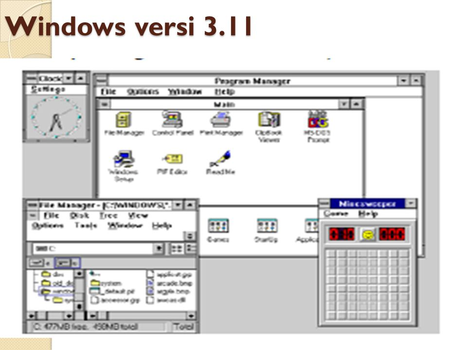 Windows versi 3.11