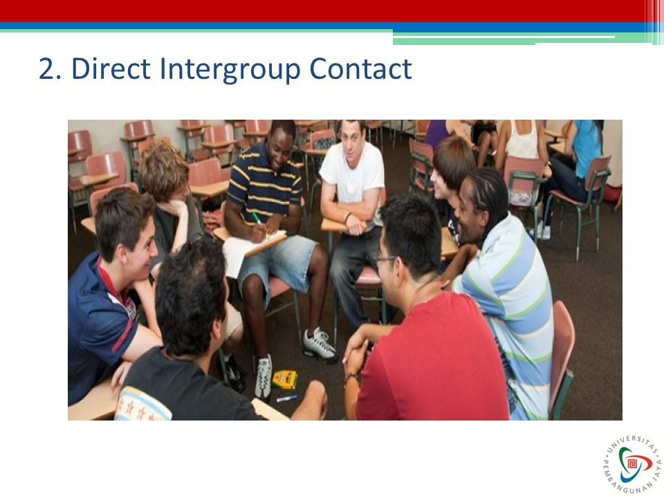 2. Direct Intergroup Contact