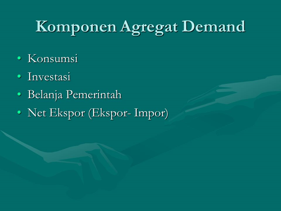 Komponen Agregat Demand