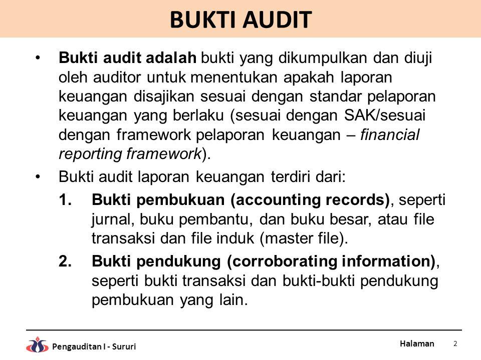 Bagian Vii Bukti Audit Dan Kertas Kerja Audit Ppt Download