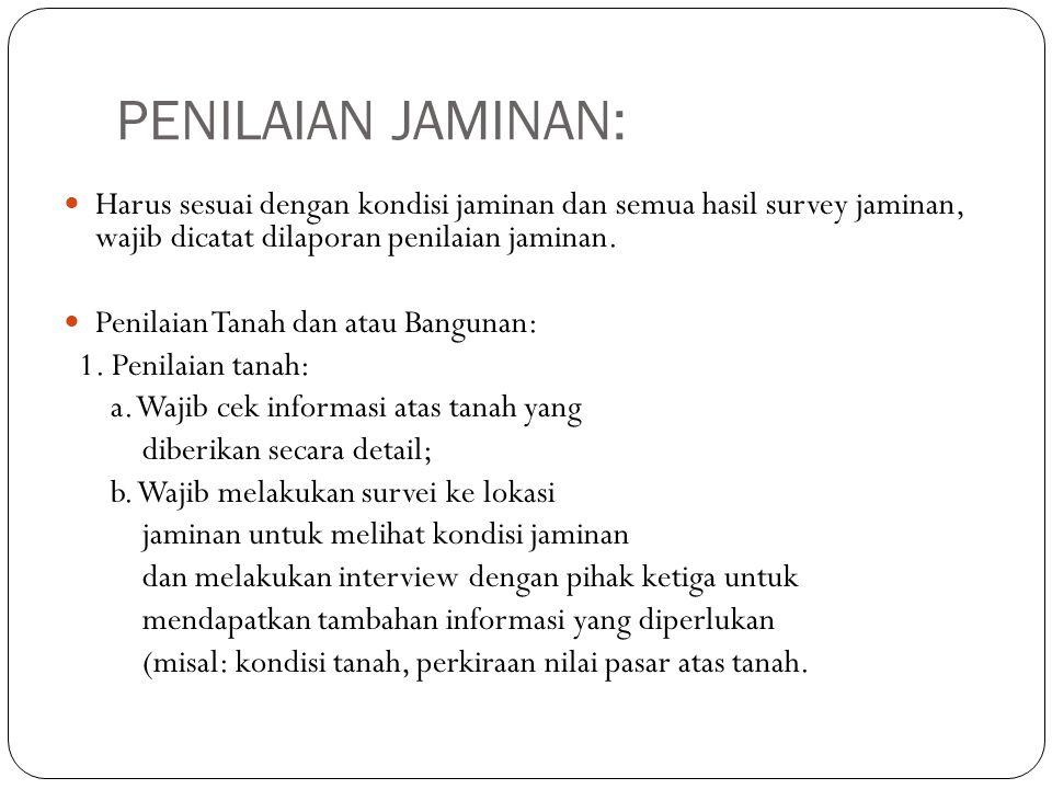 Appraisal Contract Penilaian Jaminan Ppt Download