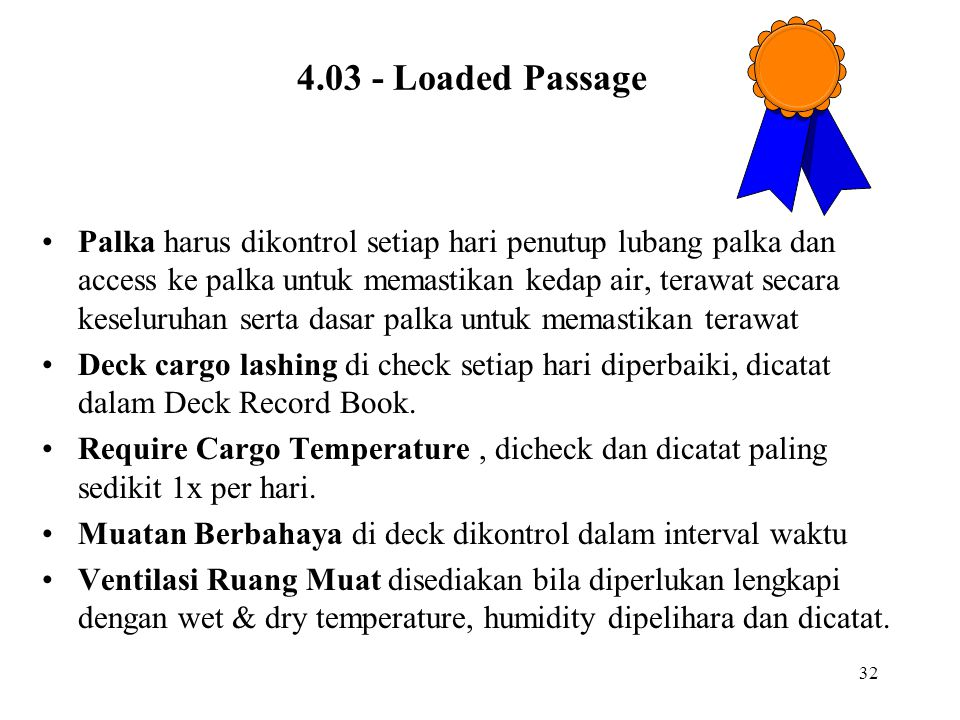 4.03 - Loaded Passage