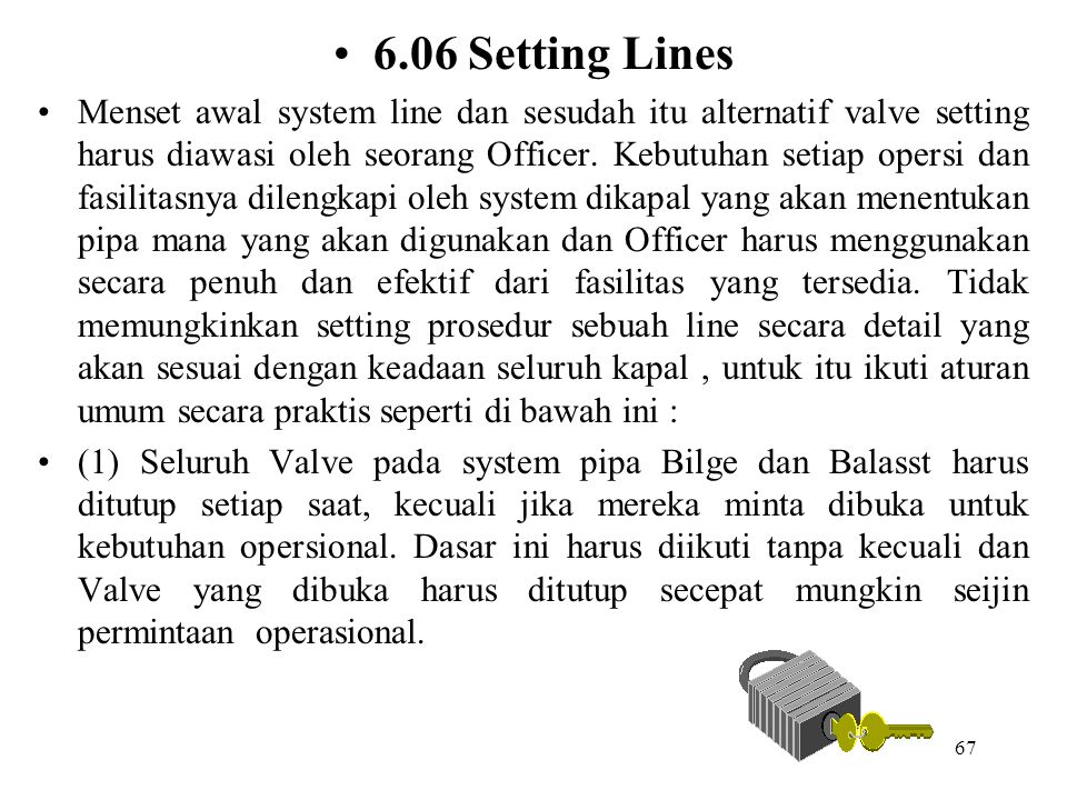 6.06 Setting Lines