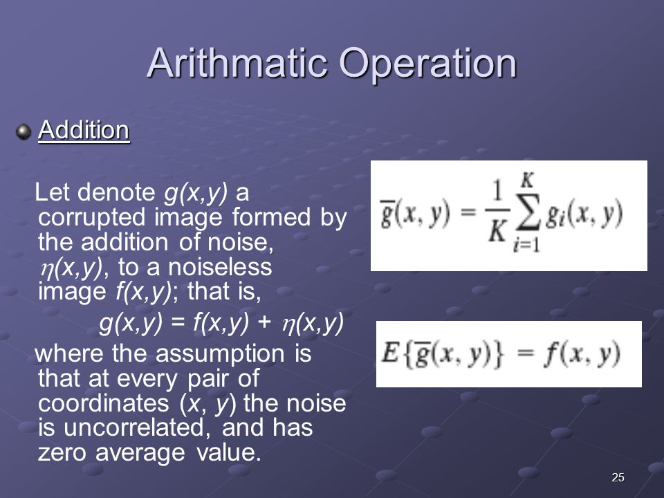 Arithmatic Operation Addition
