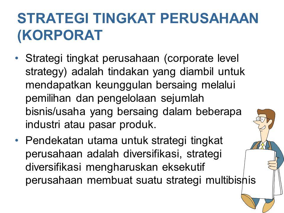 Strategi manajemen: Diversifikasi dan Perusahaan Multi-Bisnis