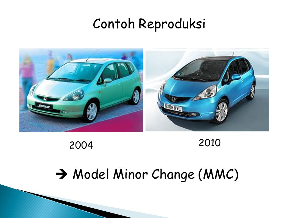  Model Minor Change (MMC)