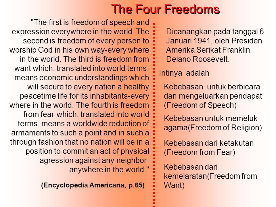 The Four Freedoms