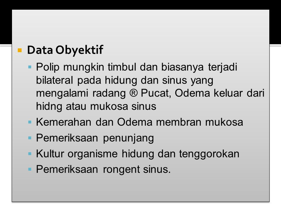 Data Obyektif