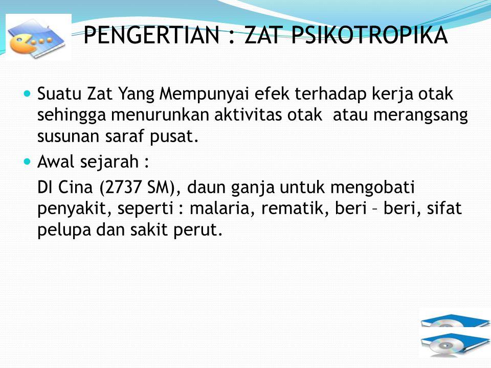 Zat Adiktif Dan Psikotropika Ppt Download