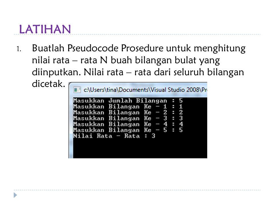 Prosedur Dan Fungsi Ppt Download