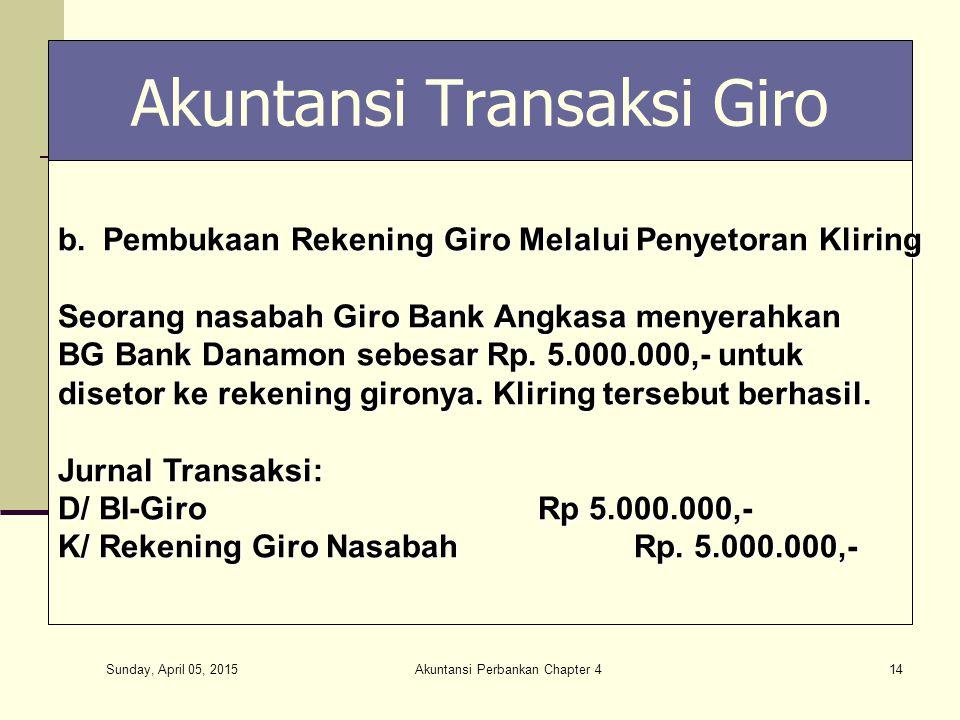 Akuntansi Perbankan Chapter 4 Ppt Download