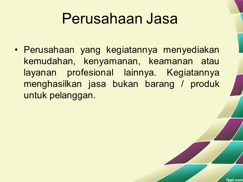 Akuntansi Perusahaan Jasa Ppt Download