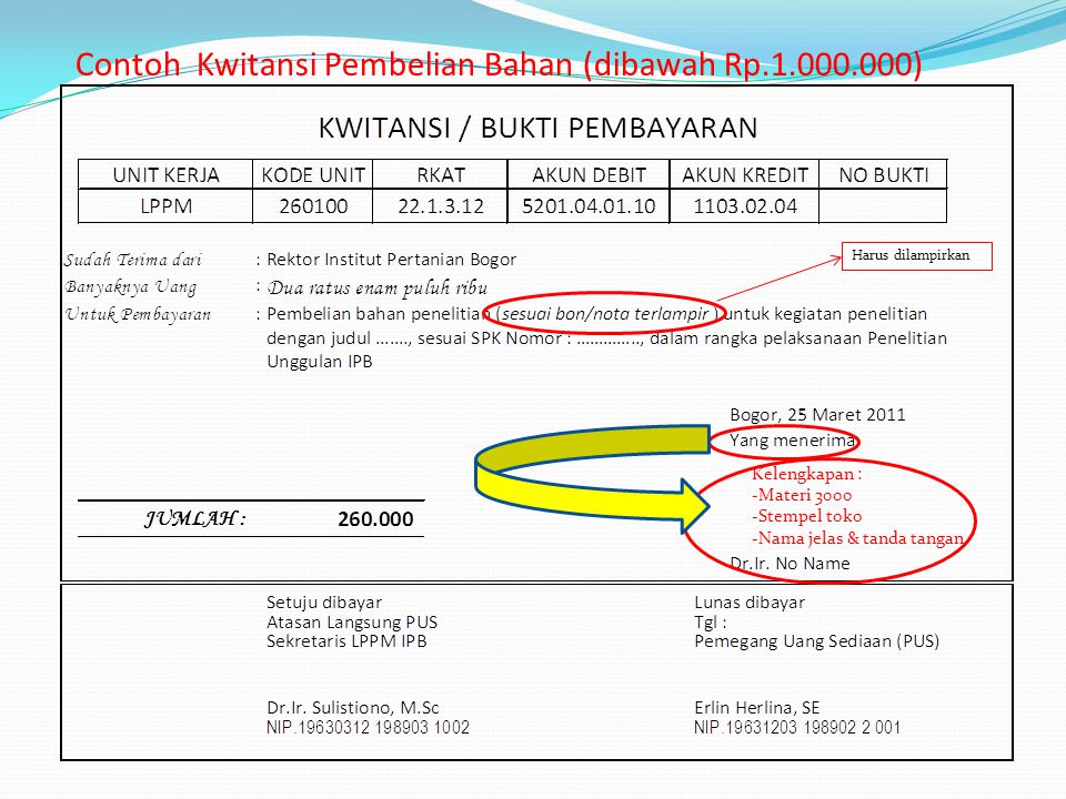 Pertanggungjawaban Keuangan Penelitian Unggulan Ipb Ppt Download