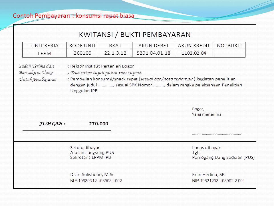 Pertanggungjawaban Keuangan Penelitian Unggulan Ipb Ppt