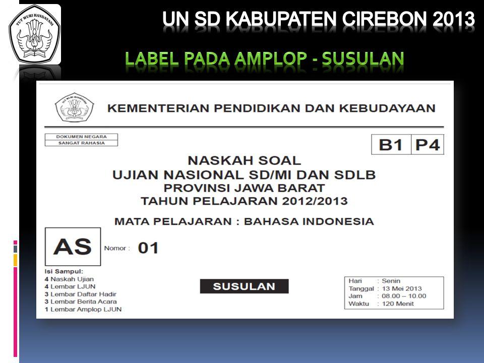 Ujian Nasional Sd Kabupaten Cirebon Tahun Pelajaran 2012 Ppt Download