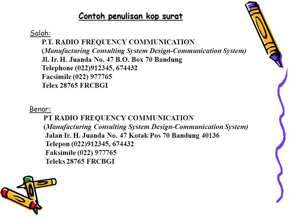 Pengertian Fungsi Sistematika Surat Ppt Download
