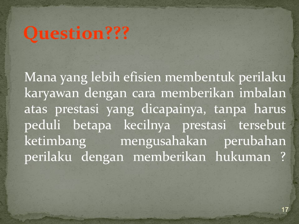Question