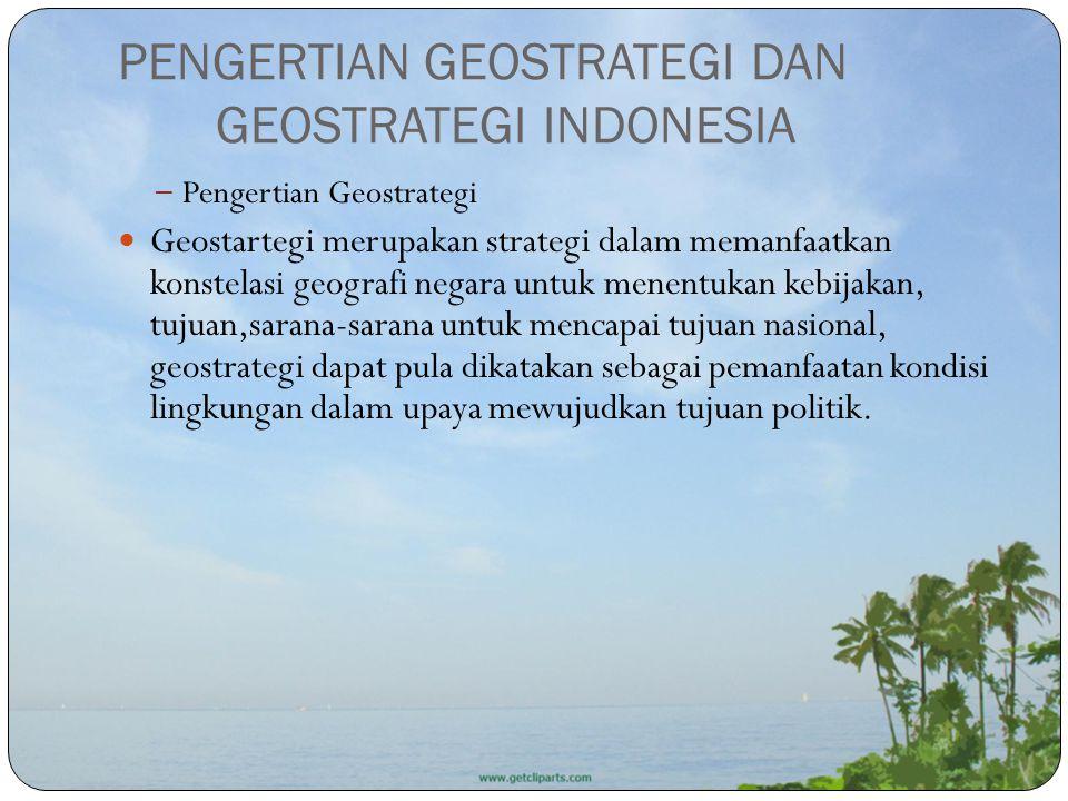 Pokok Bahasan Geostrategi Indonesia Ppt Download