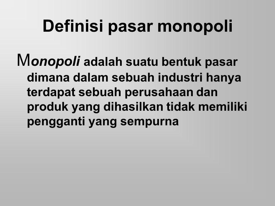 Ekonomi Mikro Monopoli Ppt Download