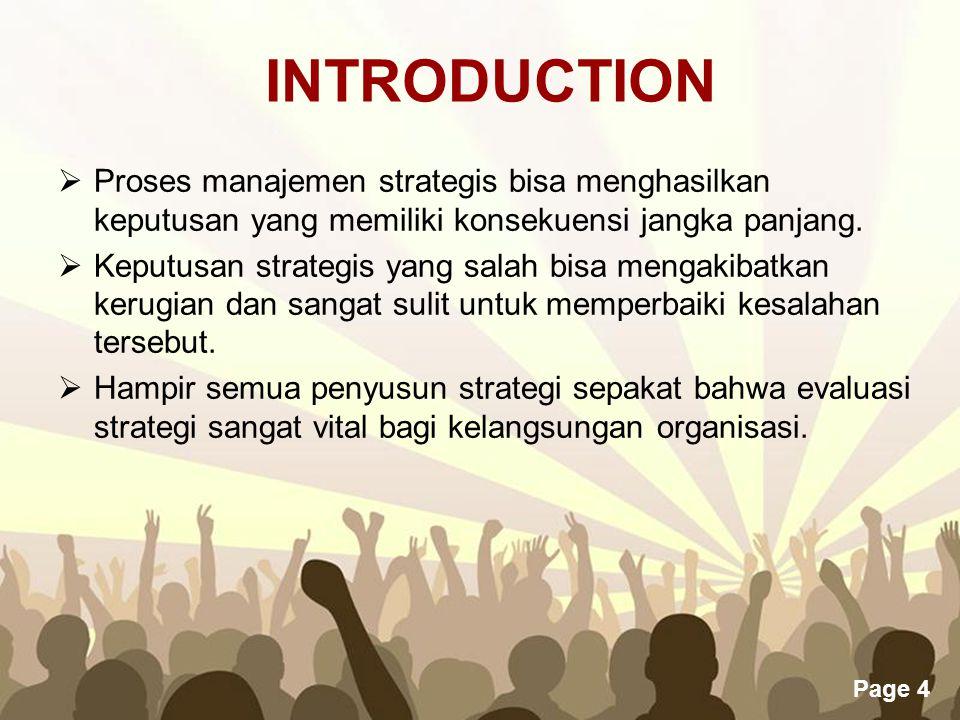 Evaluasi Dan Pengendalian Strategi Ppt Download
